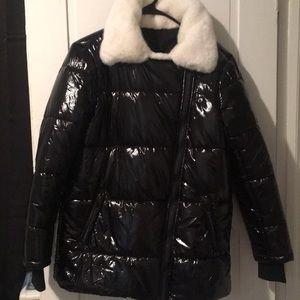 Jackets & Blazers - Nylon puffer coat
